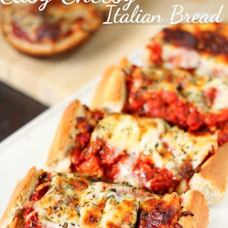 Easy Cheesy Italian Bread