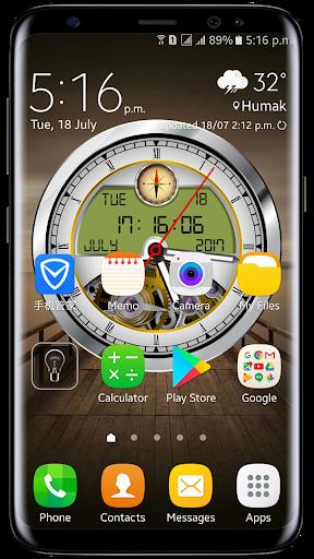 Download Analog Clock Live Wallpaper 2017: Clock Widget
