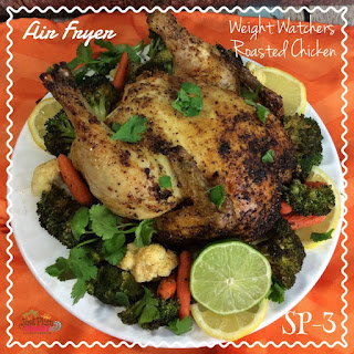 Air Fryer Weight Watchers Roasted Chicken – Smart Points 3 Recipe