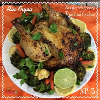 Air Fryer Weight Watchers Roasted Chicken – Smart Points 3.