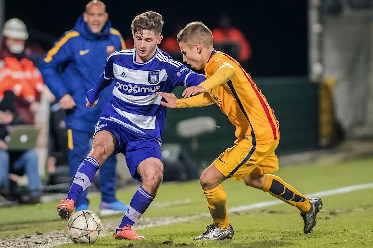 """Jeugdproduct Anderlecht, uitgeleend door Antwerp en scorend in Europa League: """"Zien wel aan einde seizoen"""""""