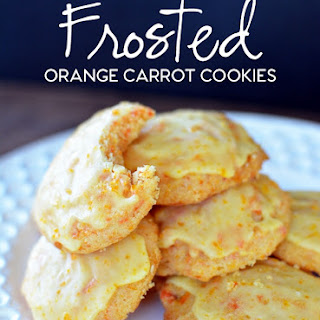 Carrot Cookies With Orange Icing Recipes