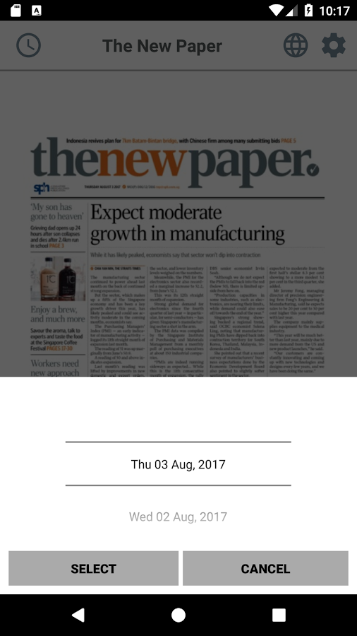 The New Paper- screenshot