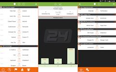 screenshot of Futbol24 – soccer live scores & results