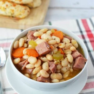 Ham & Bean Soup Crock pot.