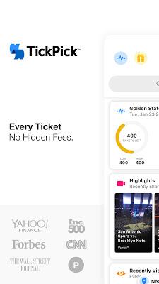 TickPick - No Fee Tickets - screenshot
