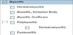 myositis hierarchy