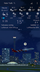 YoWindow Wetter Screenshot