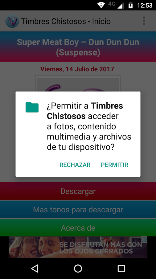 Timbres Chistosos- screenshot