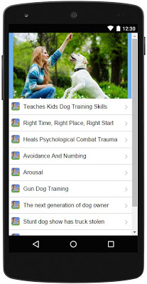 Dog Training - screenshot