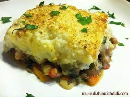 "Italian Shepard's Pie (Crock Pot Base) ""Can you say absolutely out of this..."