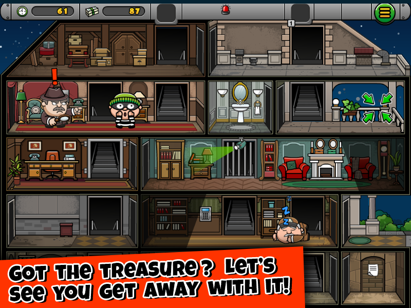 Bob The Robber 4- screenshot