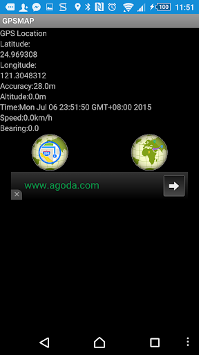 GPS Location Map