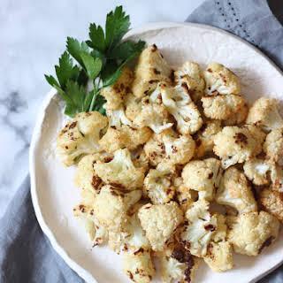 Roasted Cauliflower with a Kick.