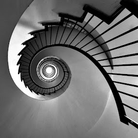 into the hole by Marco Virgone - Buildings & Architecture Other Interior ( stairway, swirl, hole )