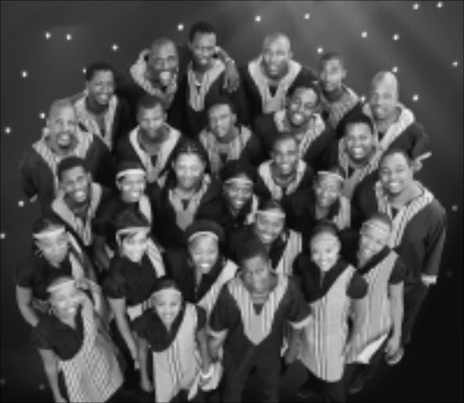 ANGELIC VOICES:The Soweto Spiritual Singers. Circa.September 2009. © Unknown.