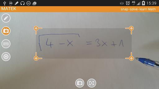 MATEK - Math Camera Solver