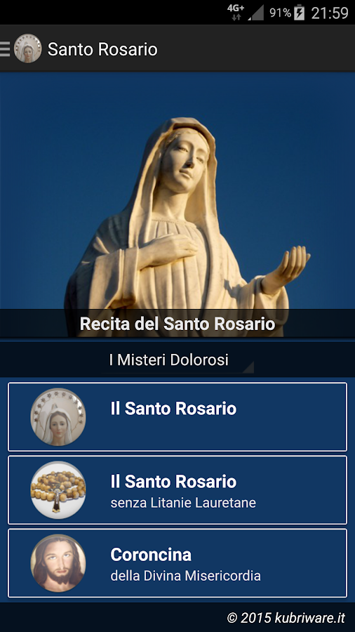 Holy Rosary- screenshot