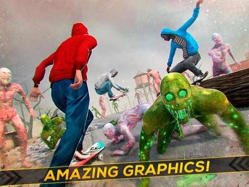 Skateboard Pro Zombie Run 3D 2.11.2 screenshots 5