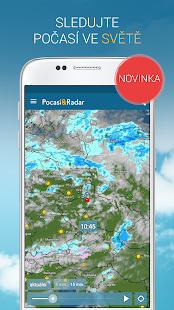 Počasí & Radar: bouřky, weather widget, meteoradar - náhled