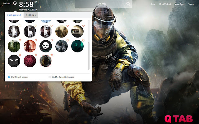 Rainbow Six Siege Wallpapers Fullhd New Tab Chrome Web Store