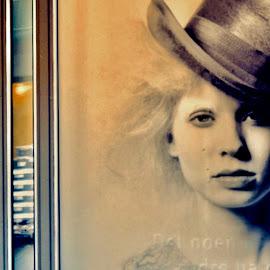 Window girl by Eirin Hansen - City,  Street & Park  Markets & Shops