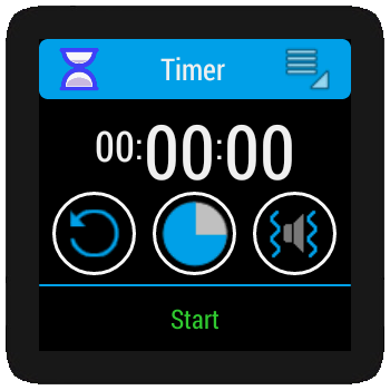 Timer for android wear