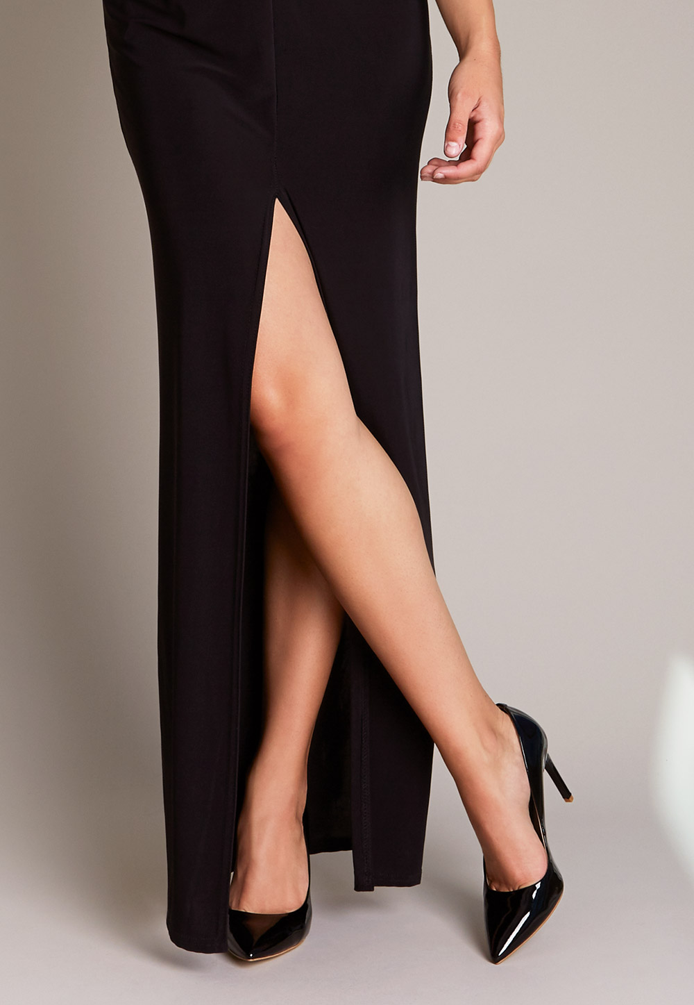 How To Stretch Black Leather Pumps