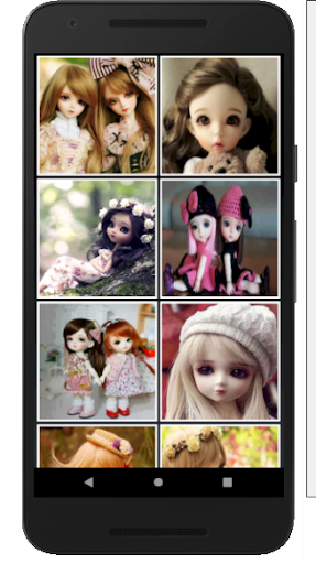 Cute Dolls Jigsaw And Slide Puzzle Game apkmr screenshots 6