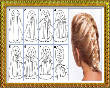 My hair style (hair binding) screenshot 11