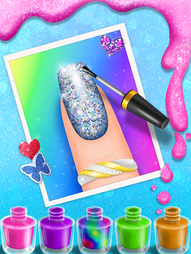 Nail Salon Manicure - Fashion Girl Game 1.0.1 screenshots 4