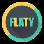 [Sub/EMUI] FLATY (Turquoise) EMUI 5.X/8.X Theme H7SubTV0.2_TV0.1 (Paid)