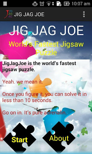 World's Fastest Jig Saw Puzzle