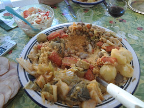 Photo: Vegetarian Couscous, just what Arja desired.