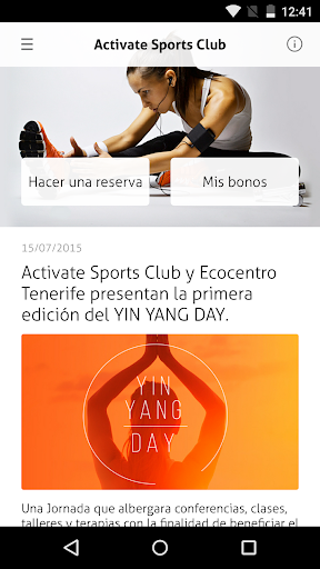 Activate Sports Club by Timp