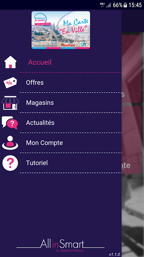AllinSmart v2 – Capture d'écran