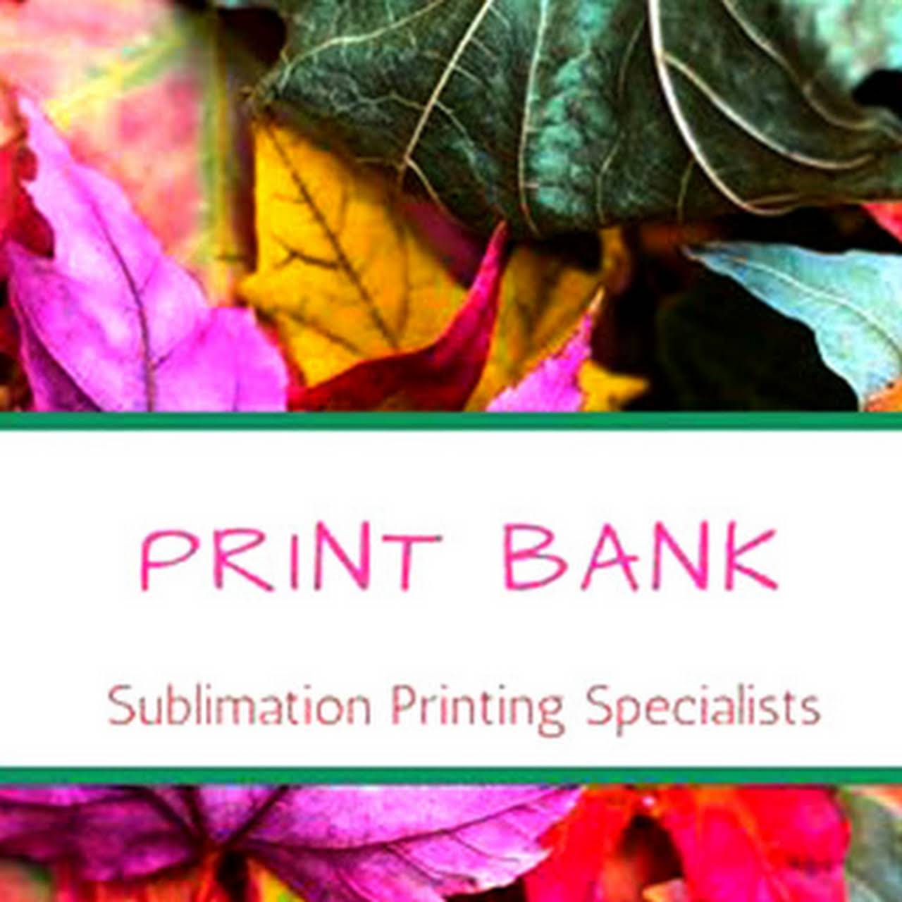 PRINT BANK - Sublimation Specialists, 100 Sq meters in 1