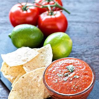 Easy Roasted Restaurant Style Salsa