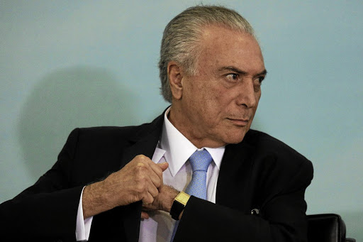 Brazil's President Michel Temer. Picture: REUTERS