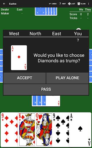 Euchre by NeuralPlay 2.41 screenshots 10
