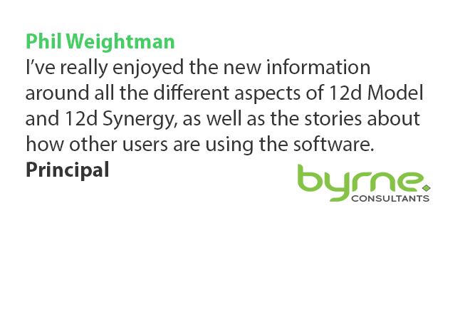 12d Technical Forum Testimonial Phillip Weightman Byrne