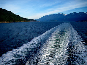 Photo: Leaving Horseshoe Bay and Vancouver behind as I make my way to Nanaimo aboard the Queen of Oak Bay