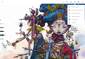 Adobe Photoshop Sketch - screenshot thumbnail 10