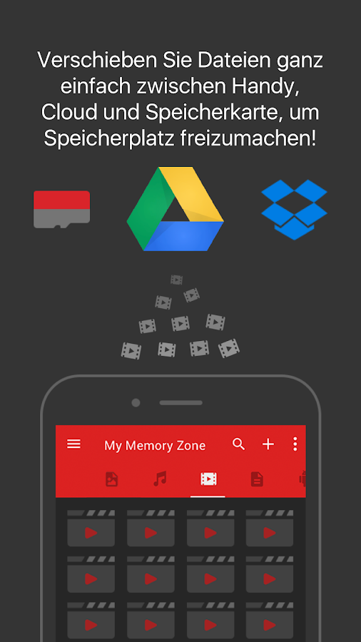 SanDisk Memory Zone – Screenshot