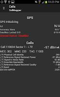 Screenshot of CellMapper