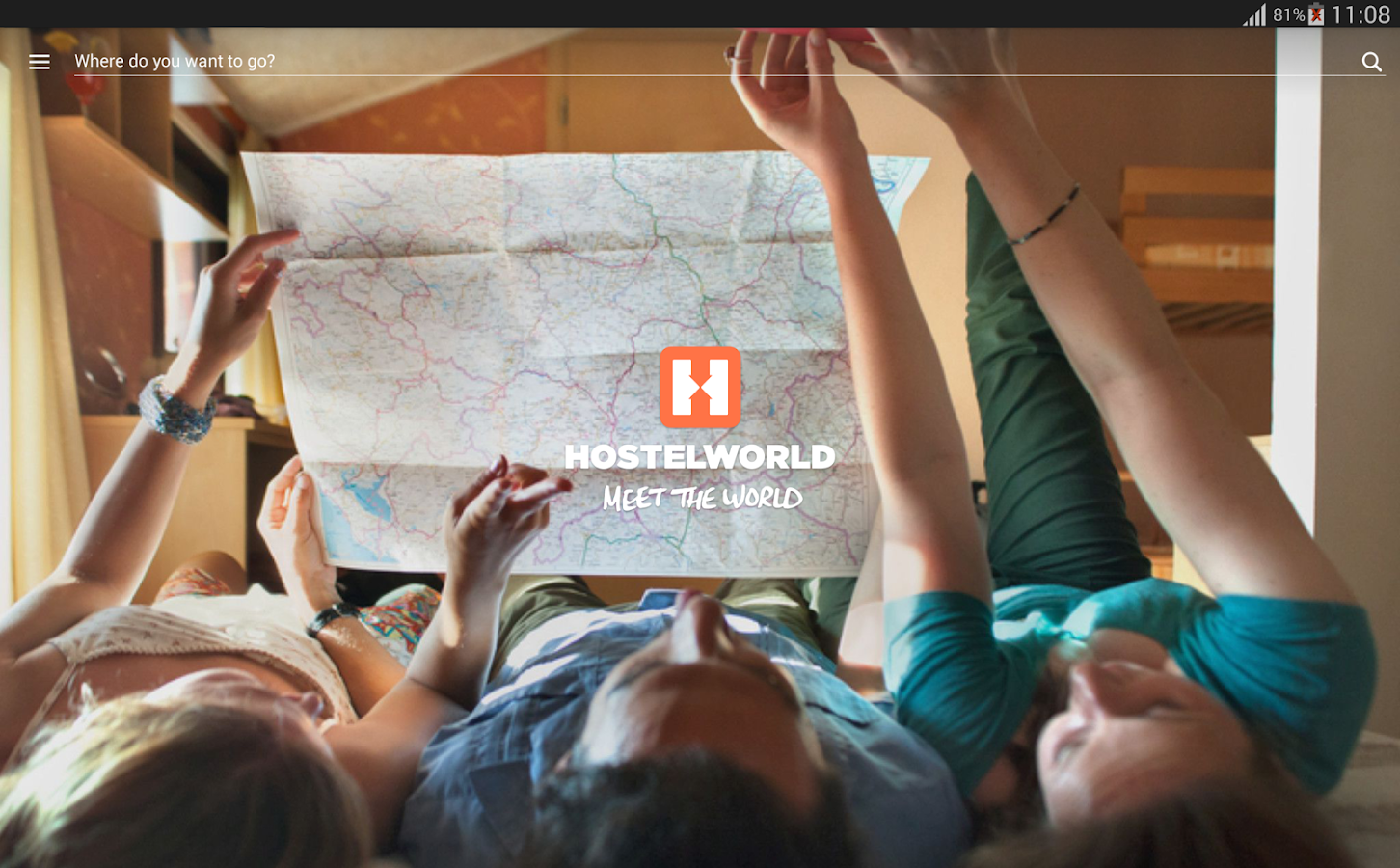 Hostelworld: Hostels & Cheap Motels Travel App- screenshot