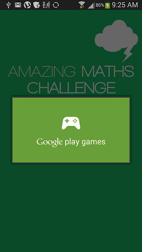 Amazing Maths Challenge