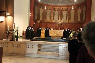 Photo: Festhildegardvesper på Abtei Sankt Hildegard