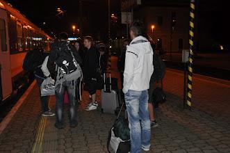 Photo: Odjezd do Varšavy – nádraží v Bohumíně (21. září 2012, 02:40 hodin).