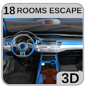 3D Escape Games-Puzzle Locked Car